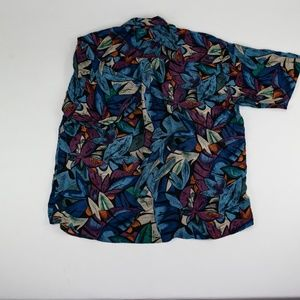 Hilo Hattie Shirts - Hilo Hattie Silk Hawaiian Shirt